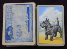 Vintage Advertising playing cards . Aberdeen & Commonwealth Shipping Line,